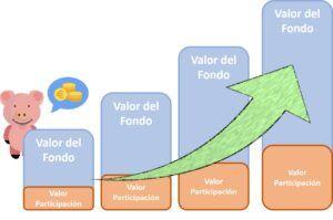 valor participaciones fondo de inversión