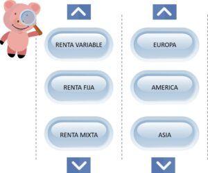 tipos de fondos de inversión y pensiones