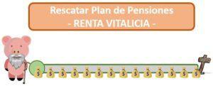 Rescatar plan de pensiones como renta vitalicia