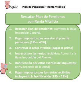 plan de pensiones mas renta vitalicia
