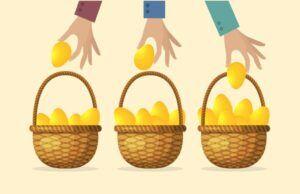 Repartir y diversificar inversión
